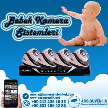 Bebeğiniz Bakıcı Kamera Sistemleri İle   Daha Güvenli